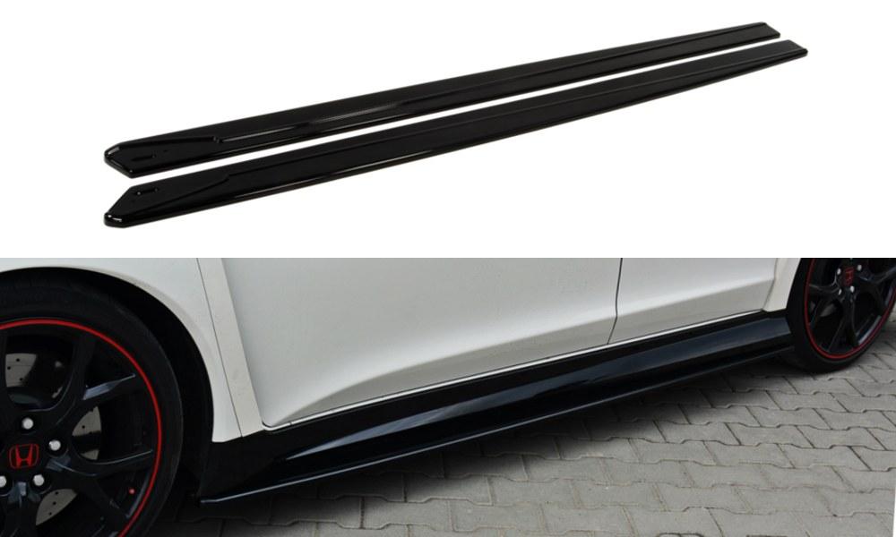 Dokładki Progów Honda Civic IX Type R - GRUBYGARAGE - Sklep Tuningowy